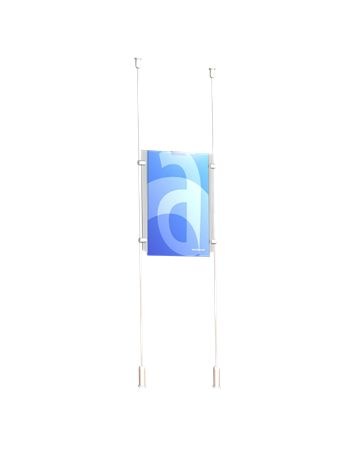 Two-Cable Window Kits - Tensioned Cable Displays
