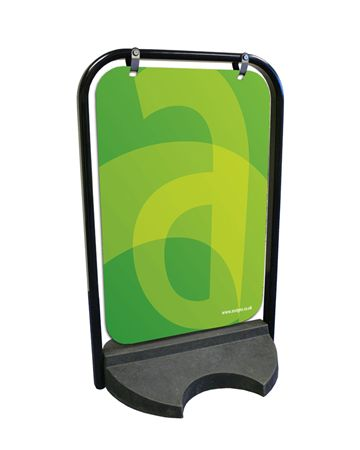 Panel Swing Sign - Pavement Signs & Forecourt Signs