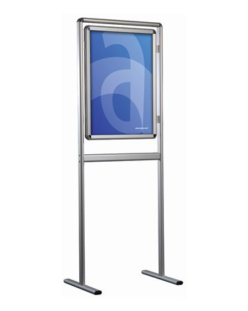 Menu Floorstand with Poster Frame - Assigns