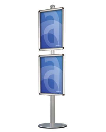 Modular Menu Floorstand with Poster Frames - Assigns
