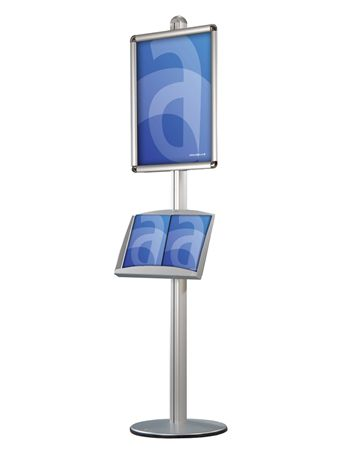 Modular Information & Menu Floorstand - Assigns