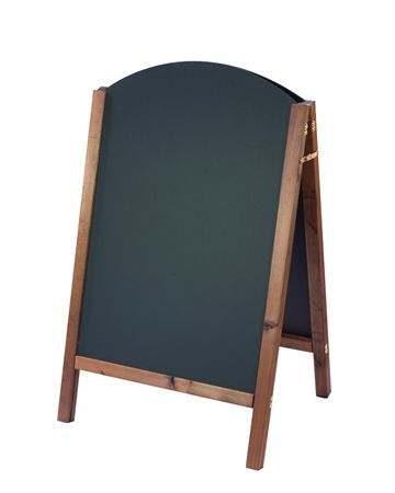 A-Board Chalkboard Curved - Assigns