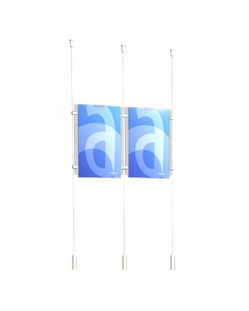 Three cable Window Display - ASSIGNS