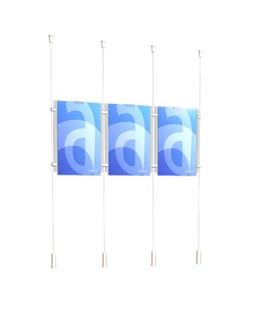 Four Cable Window Display - ASSIGNS