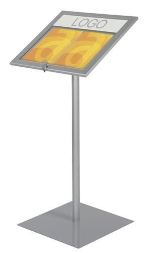 LED Floorstanding Menu Display lightbox - Assigns