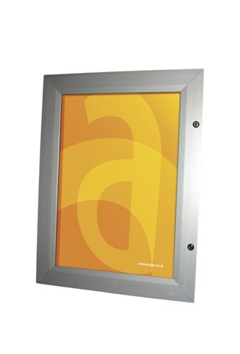 Lockable Illuminated menu case lightbox - Assigns