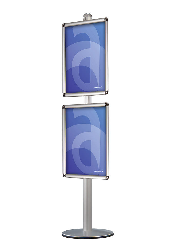 made displays floor stands modular floorstand with poster frames