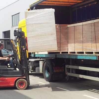 Delivery Being Loaded in Holland