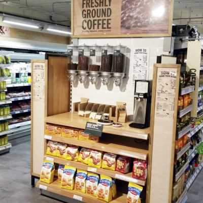 Budgens - Coffee End Gondola