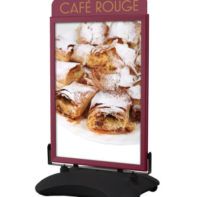 Cafe Rouge - Stormforce Basic with Pastry Poster