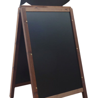 Catch Of The Day - Square Framed Chalkboard A-Board