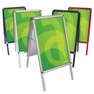 Coloured A-Boards - Group of 5