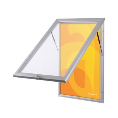 Lockable Outdoor LED Edgelit Lightbox
