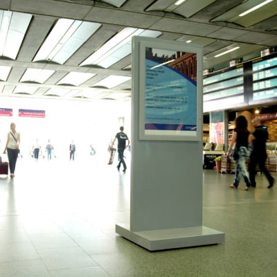 Network Rail - Premium Floor Stand at St Pancras