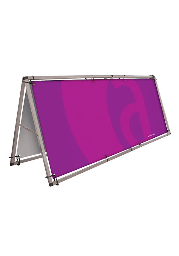 Banner Frame - Large Free Standing-r