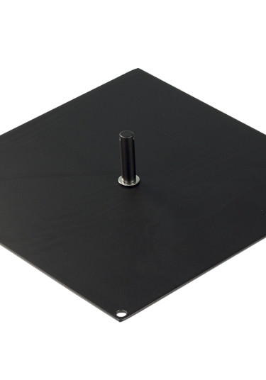 Flag Square Metal Base - 400mm x 400mm